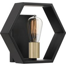 View Product - Bismarck Wall Sconce in Earth Black