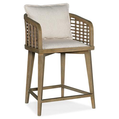 Hooker Furniture - Sundance Barrel Back Counter Stool
