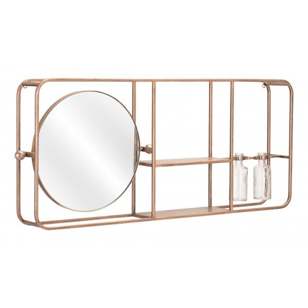Thornhill Mirror Shelf Gold