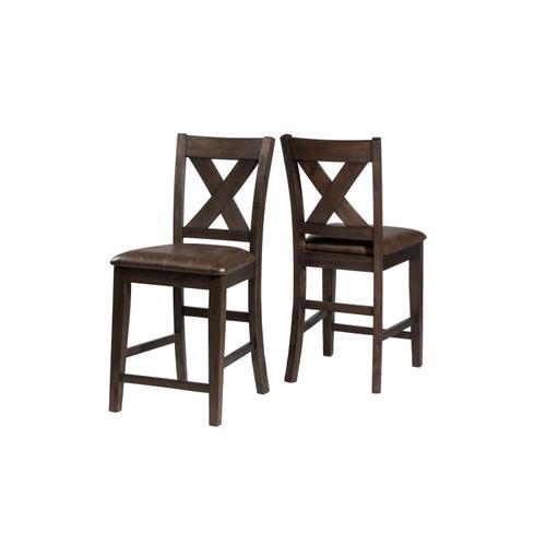 Spencer Non-swivel Counter Height Stool