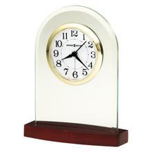 Howard Miller Hansen Brass and Glass Table Clock 645715