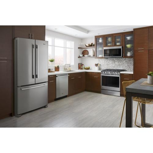 Whirlpool Canada - 5.8 cu. ft. Smart Front Control Gas Range with EZ-2-Lift Hinged Cast-Iron Grates