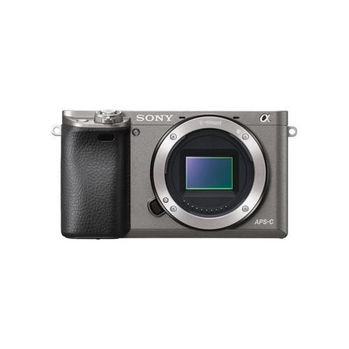 Sony - Alpha 6000 APS-C Mirrorless Interchangeable Lens Camera - Silver