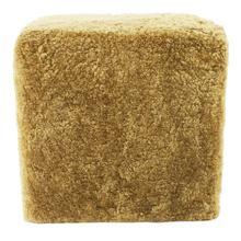 Shepherd Wool Stool Chartreuse