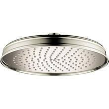 Polished Nickel Showerhead 240 1-Jet, 2.0 GPM