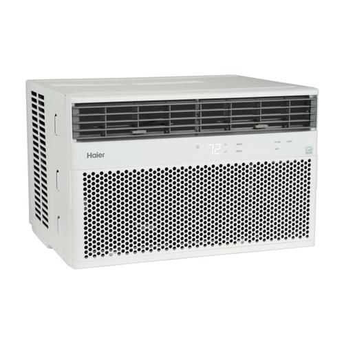 Haier - Haier® ENERGY STAR® 8,000 BTU Smart Electronic Window Air Conditioner for Medium Rooms up to 350 sq. ft.