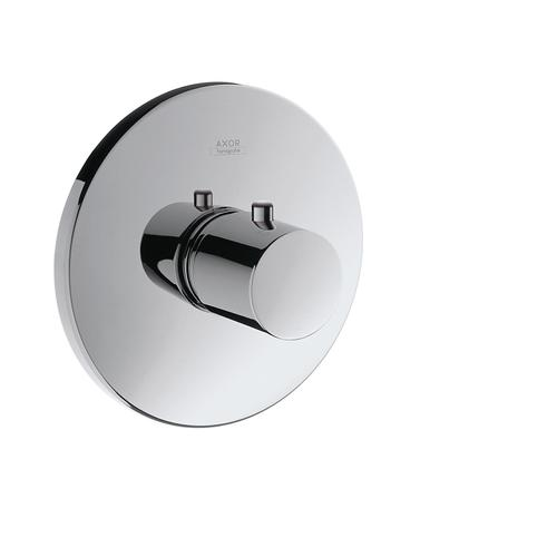 Stainless Steel Optic Thermostat for concealed installation