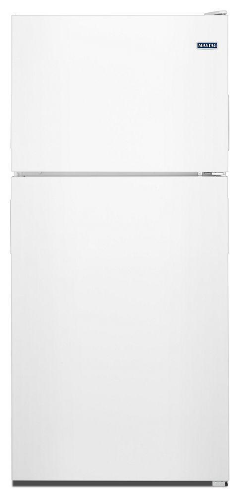Maytag30-Inch Wide Top Freezer Refrigerator With Powercold® Feature- 18 Cu. Ft.