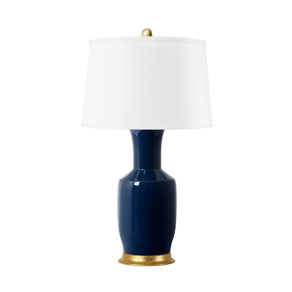 See Details - Alia Lamp, Navy Blue