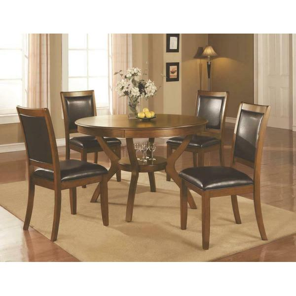 See Details - Nelms Casual Brown Walnut Five-piece Dining Set