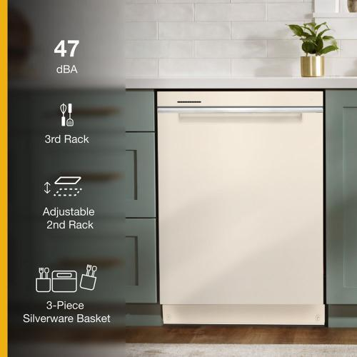 Whirlpool - Large Capacity Dishwasher with 3rd Rack