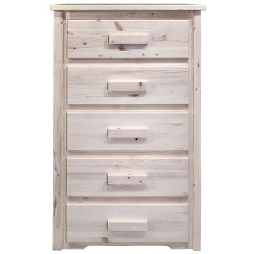 Montana Woodworks - Homestead Collection 5 Drawer Chest of Drawers
