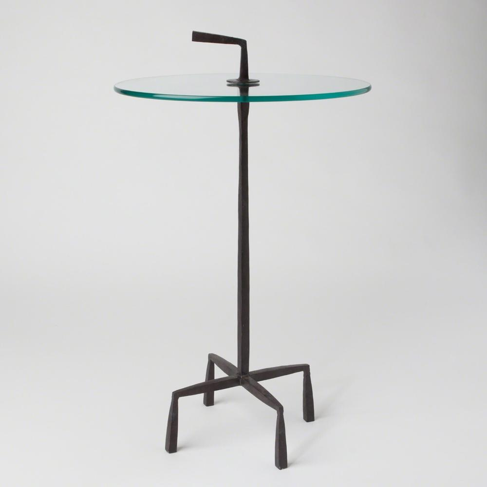 See Details - Quad Pod Accent Table-Natural Iron
