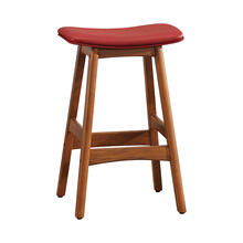 View Product - Counter Height Stool, Matt Red