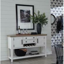 See Details - AMERICANA MODERN DINING Sideboard 54 in. x 19 in.