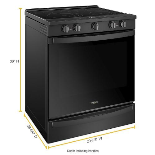 Gallery - 6.4 cu. ft. Smart Slide-in Electric Range with Scan-to-Cook Technology