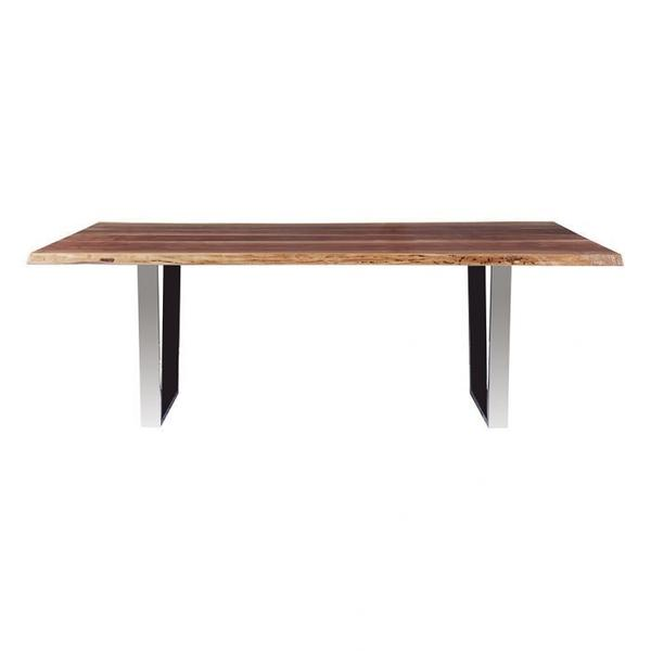 """See Details - Crotch Walnut 84"""" Dining Table Top"""