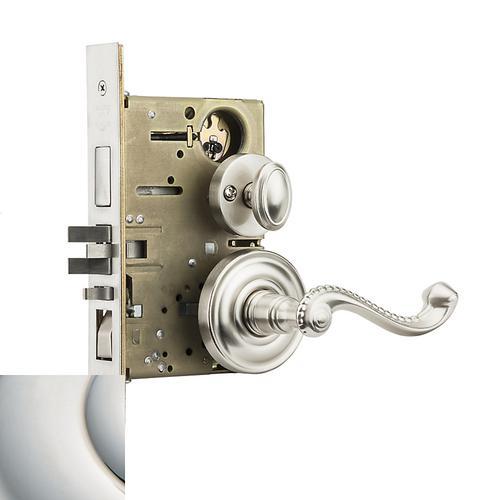 Baldwin - Polished Nickel with Lifetime Finish Bristol Sectional Entrance Set