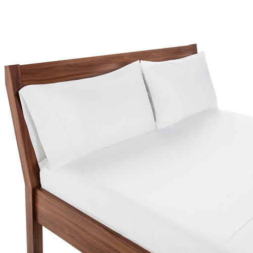 Weekender Hotel Fitted Sheet, Full, White