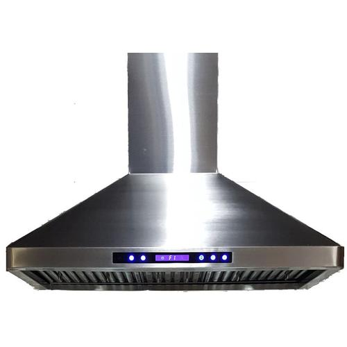 "36"" Stainless Steel Chimney Range Hood"