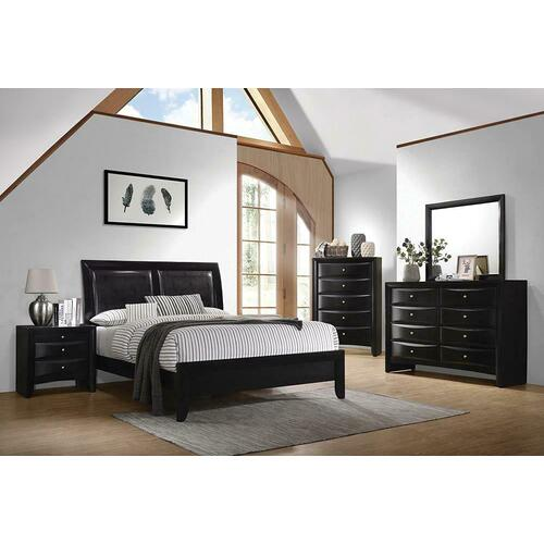 Gallery - Ca King 5pc Set (KW.BED, Ns, Dr, Mr, Ch)