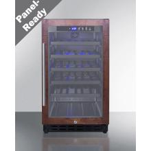 """See Details - 18"""" Wide Undercounter Wine Cellar (panel Not Included)"""
