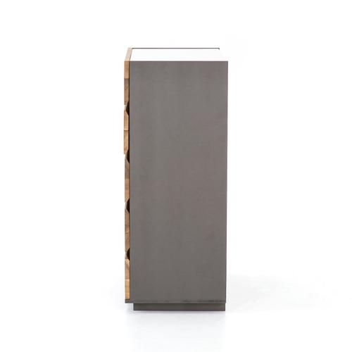 Four Hands - Holland Tall Dresser-grey Lacquer