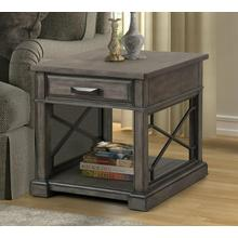 SUNDANCE - SMOKEY GREY End Table