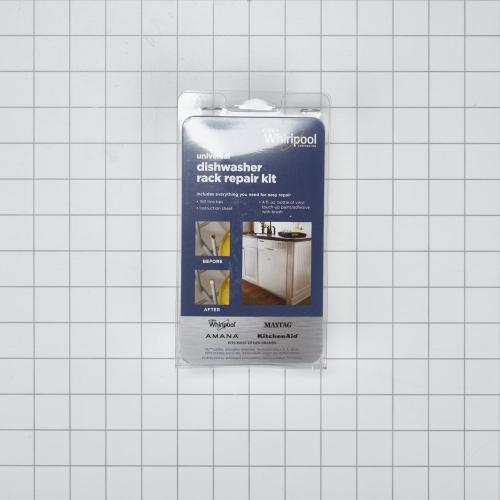 Dishwasher Rack Repair Kit, White