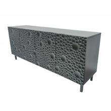 ACME Empress Console Table - 90546 - Modern - Metal, Wood (Mango) - Black