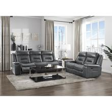 See Details - Double Lay Flat Reclining Sofa and  Loveseat