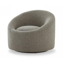 View Product - Modrest Frontier - Glam Grey Fabric Accent Chair