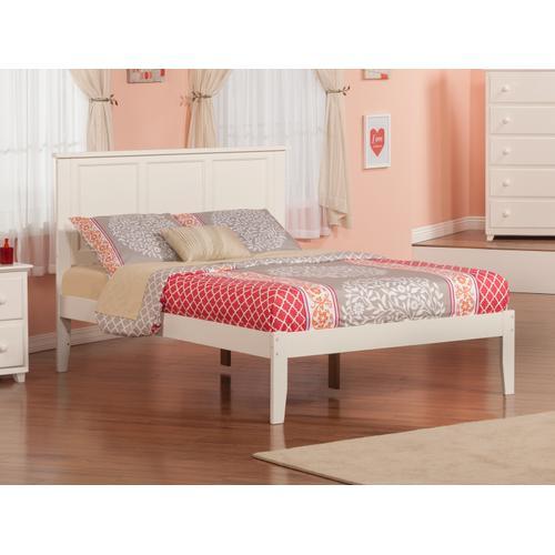 Atlantic Furniture - Madison Full Open Foot White