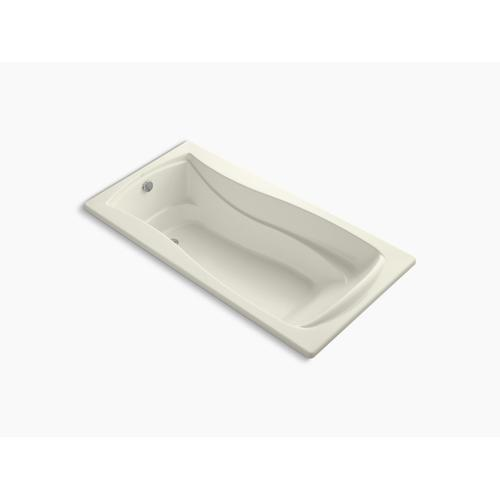 "Biscuit 72"" X 36"" Drop-in Bath With Bask Heated Surface and Reversible Drain"