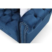 See Details - Fillmore Sectional, Blue