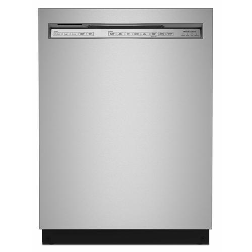 KitchenAid - 39 dBA Dishwasher in PrintShield™ Finish with Third Level Utensil Rack - Stainless Steel with PrintShield™ Finish