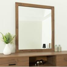 Nova Domus Fantasia - Contemporary Walnut Mirror