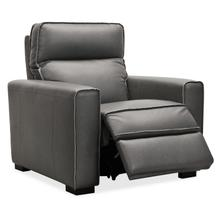 See Details - Braeburn Leather Recliner w/PWR Headrest