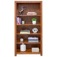 Erica Square Cut Profile Bookcase 2460 with 4 shelves