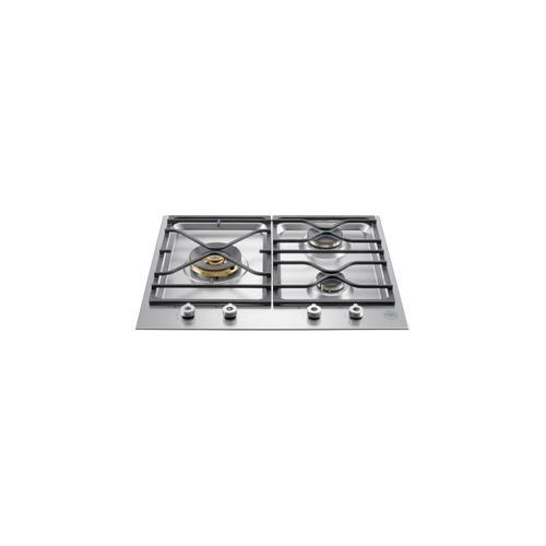 Bertazzoni - 24 Segmented cooktop 3-burner Stainless Steel