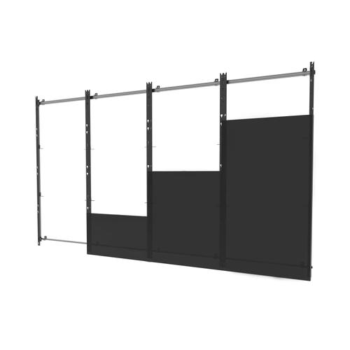 SEAMLESS Kitted Series Flat dvLED Mounting System for Samsung IER & IFR Series Direct View LED Displays - 4x4