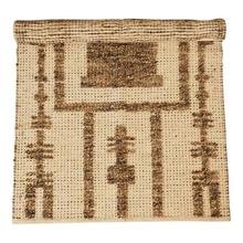 Product Image - 3' x 5' Woven Cotton Patterned Rug, Natural & Brown