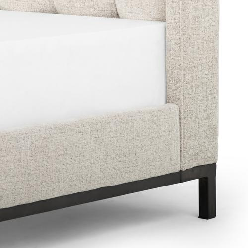 Twin Size Plushtone Linen Cover Newhall Bed