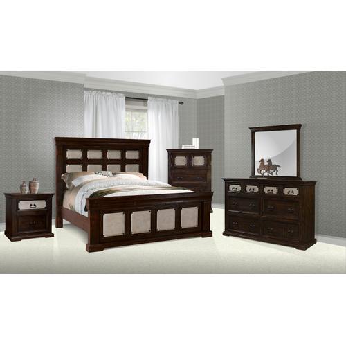 Magnolia Cowboy Queen/King 4PC Bedroom Set