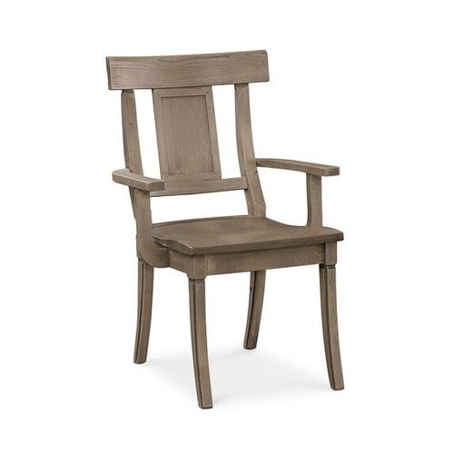 Bassett Furniture - Baxter Oak Arm Chair