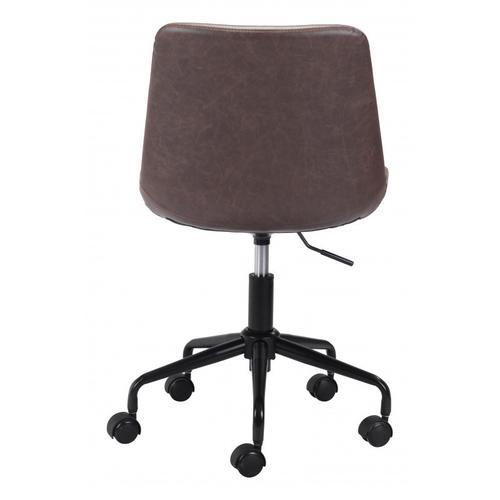 Zuo Modern - Byron Office Chair Brown