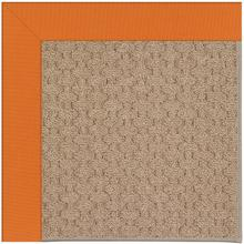 Creative Concepts-Grassy Mtn. Canvas Tangerine Machine Tufted Rugs