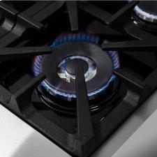 "Cossato - Platinum Professional 30"" Freestanding Dual Fuel 240V Electric Oven Gas Surface Range"