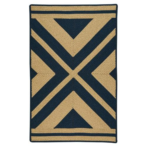 Capel Rugs - LM-Quilt Rug Navy