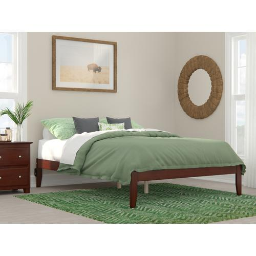 Atlantic Furniture - Colorado Queen Bed with USB Turbo Charger in Walnut